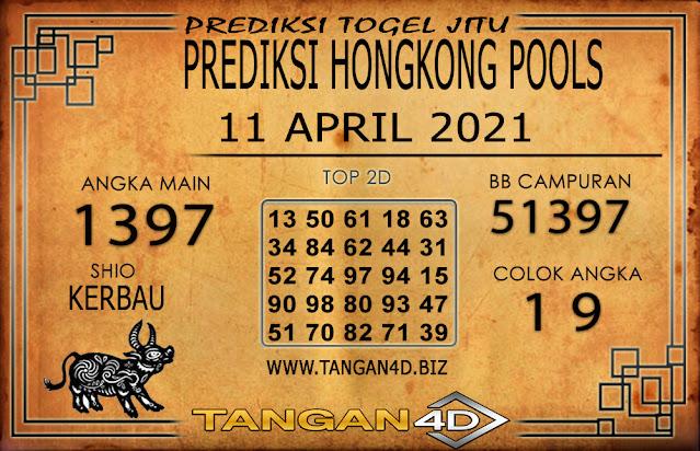 PREDIKSI TOGEL HONGKONG POOLS TANGAN4D 11 APRIL 2021