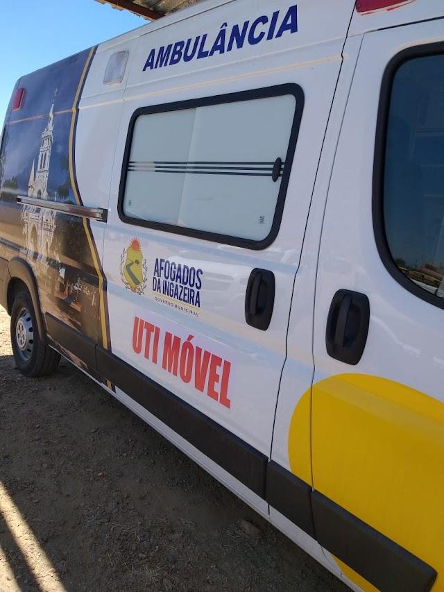 Prefeitura de Afogados da Ingazeira entrega hoje uma ambulância com UTI móvel