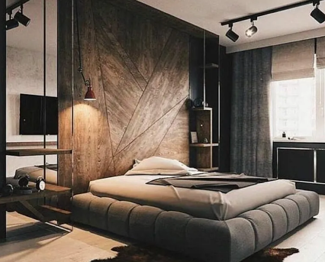 10. Minimalist Gothic bedroom thoughts