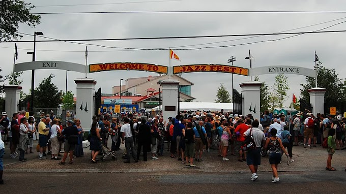 TBT Past memories of New Orleans Jazz Fest from NPR Jazz