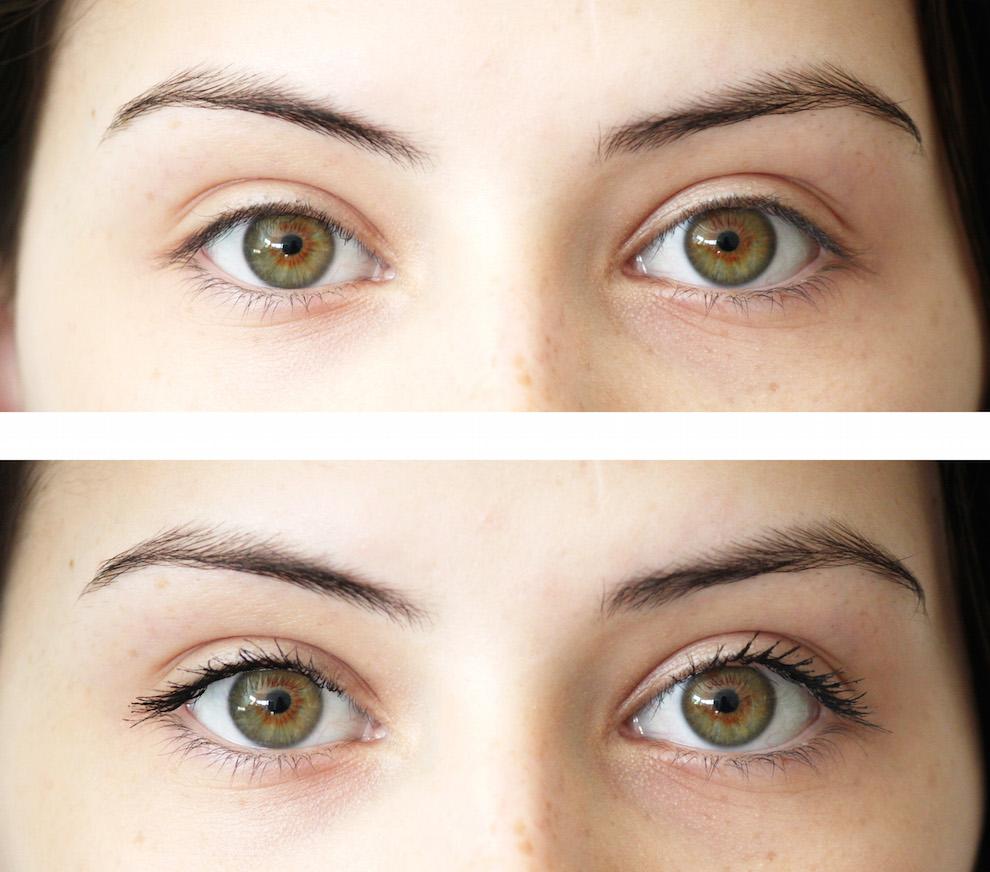 Maybelline Lash Sensational Eyelash Comparison