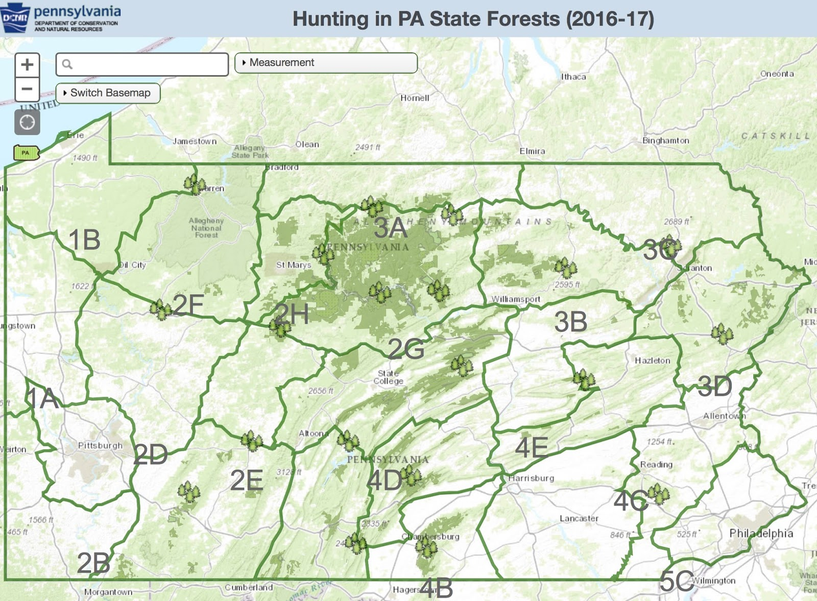 PA Environment Daily DCNRs Interactive Webpage Offers
