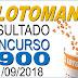 Resultado da Lotomania concurso 1900 (11/09/2018) ACUMULOU!!!