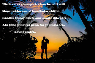 Bangla Good Night Kobita - Bangla Shayari