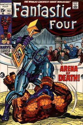 Fantastic Four #93, Torgo