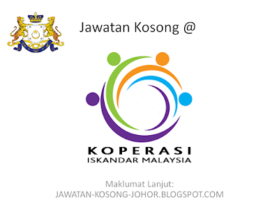 Jawatan Kosong Di Koperasi Iskandar Malaysia Berhad (ImCooP)