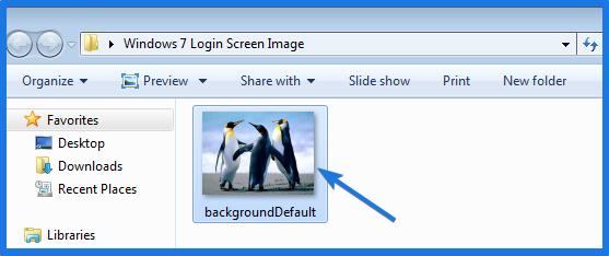 Windows 7 Login Screen Background Image