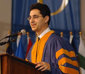 Leonard P. Stark graduating