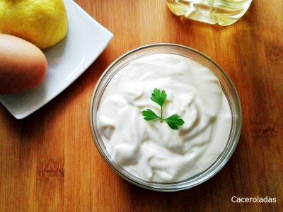 mahonesa o mayonesa casera