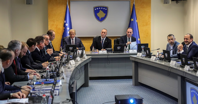 Kosovo Government allocates € 500,000 euros to Albania following the Earthquake, € 100,000 the North Macedonian
