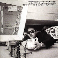 Beastie boys album cover - black and white photo of a man at a fast food drive through