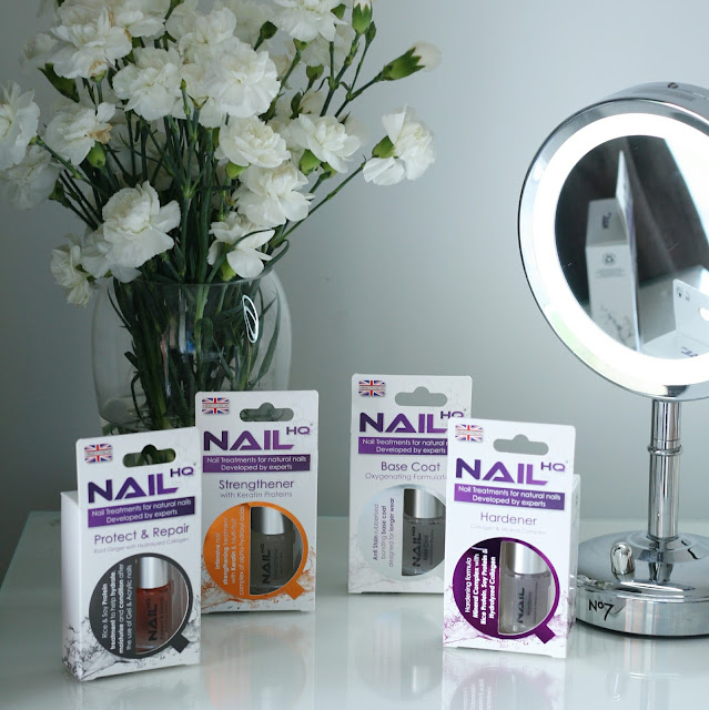 Products on offer from Nail HQ to improve your nails.