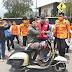 Dipimpin Ketua PMI Fikar Azami, PMI Kota Sungai Penuh Bagikan Masker ke Pengguna Jalan