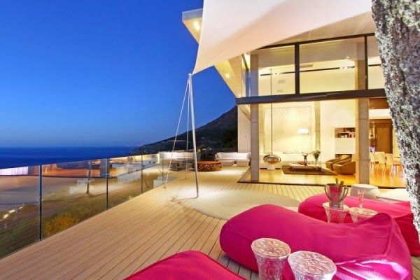 villa in cape town outdoor terrace