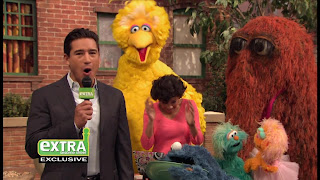 Sesame Street Episode 4305 Me Am What Me Am, Veggie Monster, Mario Lopez, big bird, Snuffy, zoe, rosita
