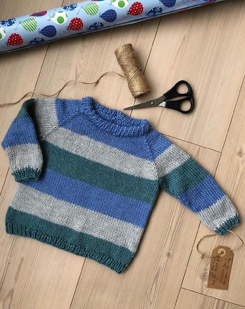 Good Old Raglan - Free Knitting Pattern