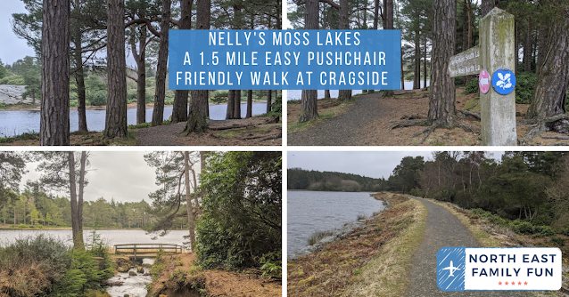 Nelly's Moss Lakes A 1.5 Mile Easy Pushchair Friendly Walk at Cragside