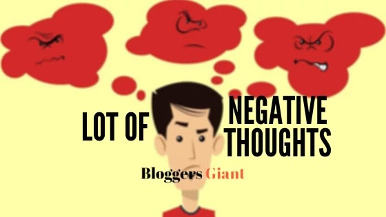 lot of negative thoughts anxiety