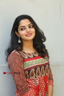 Telugu Actress Nikhila Vimal Latest Stills in Anarkali Dress  0089.JPG
