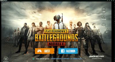 Login dengan Akun Facebook di dalam Game PUBG Mobile