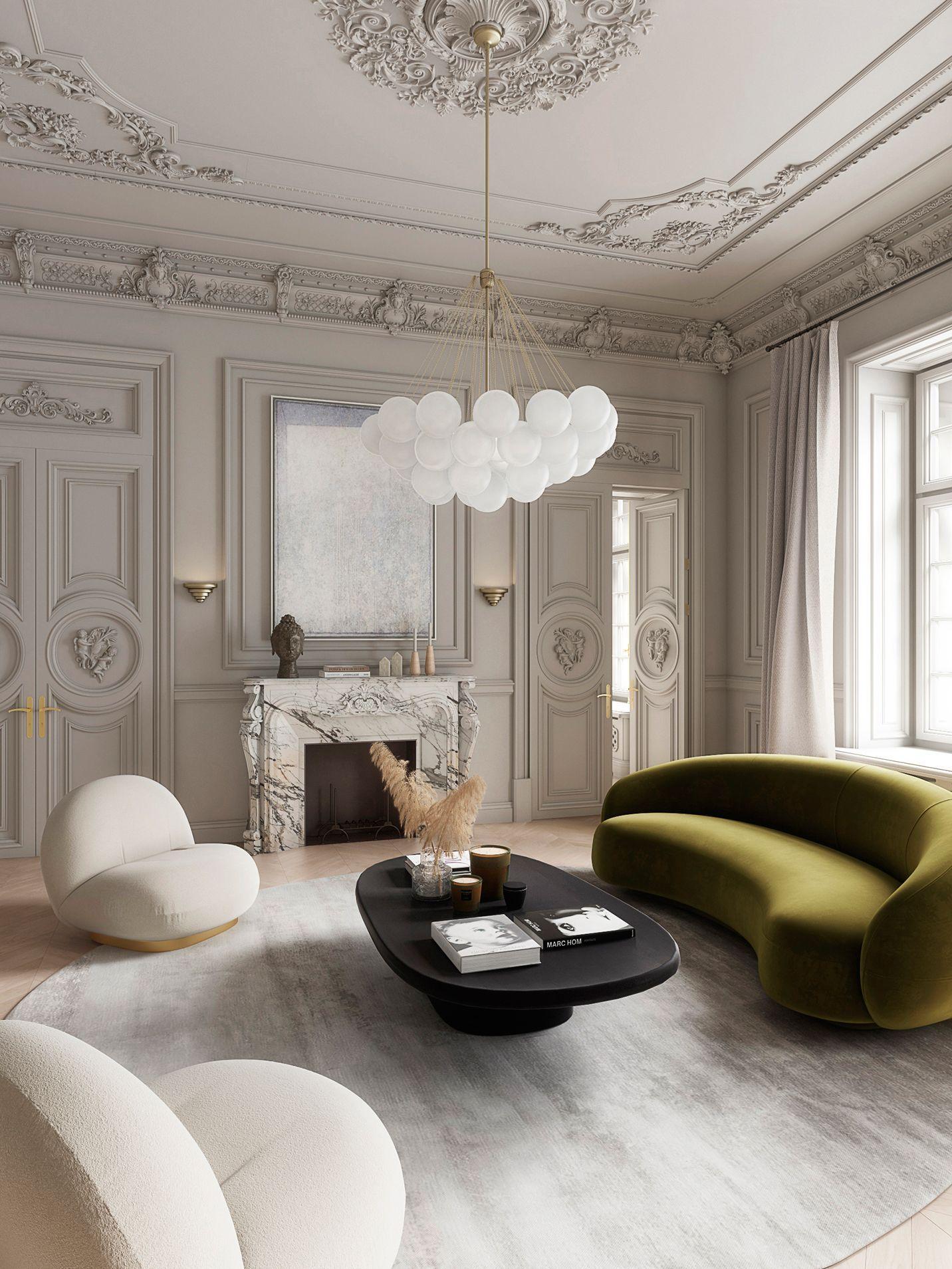 Bàn ghế phòng khách đơn giản 15