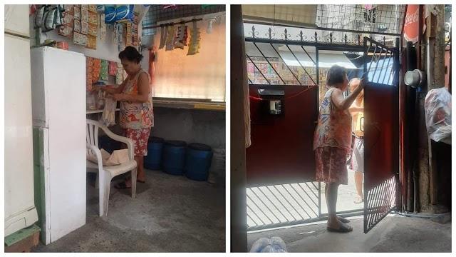 70-anyos na Lola sinarado ang tindahan matapos pinamigay ang paninda sa mga naapektuhan ng Quarantine