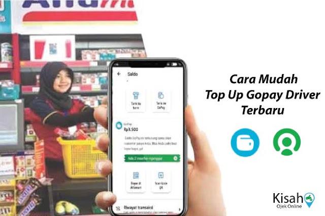 Berbagai Cara Top Up Saldo GoPay Driver Gojek Terbaru 100% Work