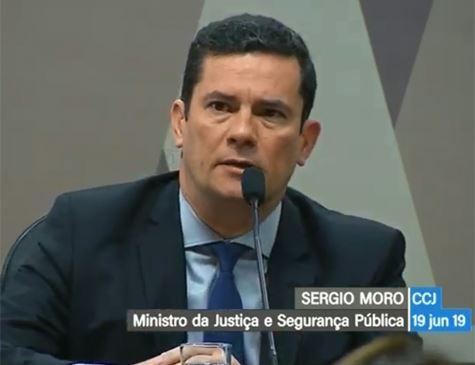 CCJ do Senado ouve Moro sobre conversas vazadas com Dallagnol