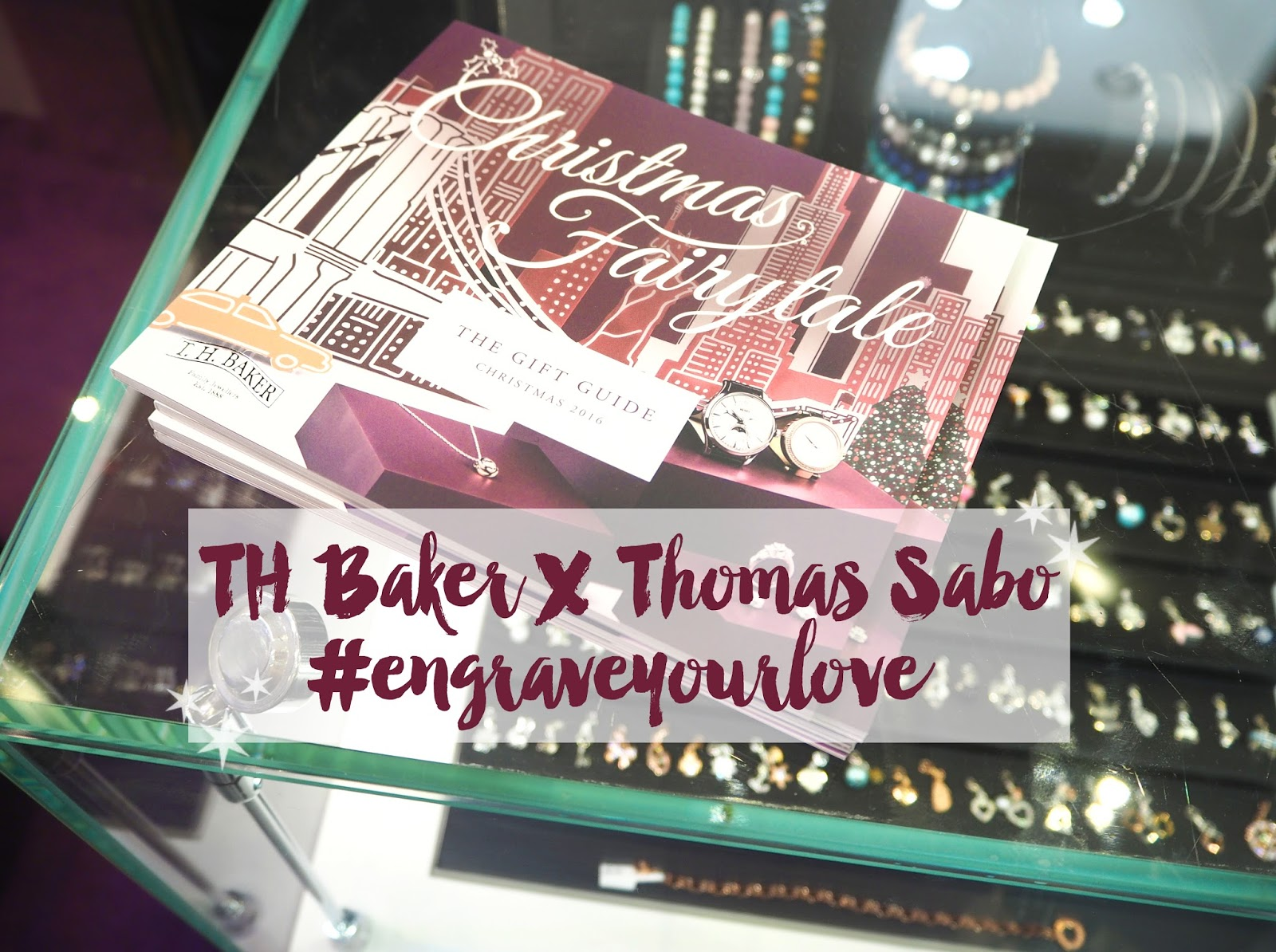 TH Baker X Thomas Sabo Engraved Jewellery, Katie Kirk Loves, #engraveyourlove, Blogger Event, Goodie Bag, Brighton, Thomas Sabo, Jewellery