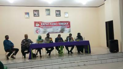 Rapat Pleno Rekapitulasi Daftar Hasil Pemutakhiran (DPHP) Pemilihan Bupati Dan Wakil Bupati Pelalawan Tahun 2020