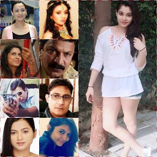 Priyanka Bhole, Prinal Oberoi, Ankita Bhargava, Nissar Khan, Sanjeev Tyagi, Rajendra Shisatkar, Malini Sengupta, Ekta Tiwari, Mahendi Pravin Jain, Gauri Yadav Tonk