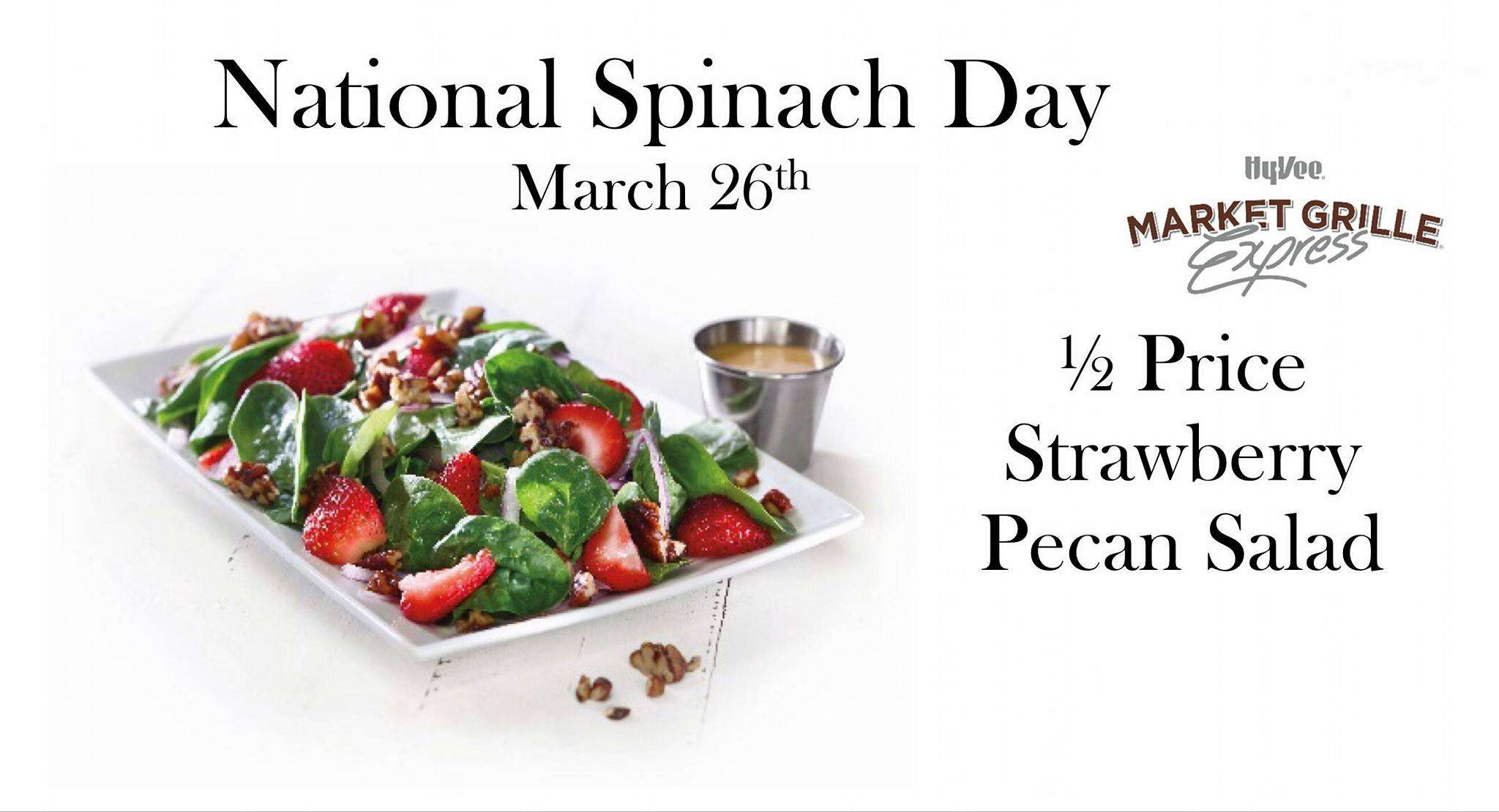 National Spinach Day Wishes Photos