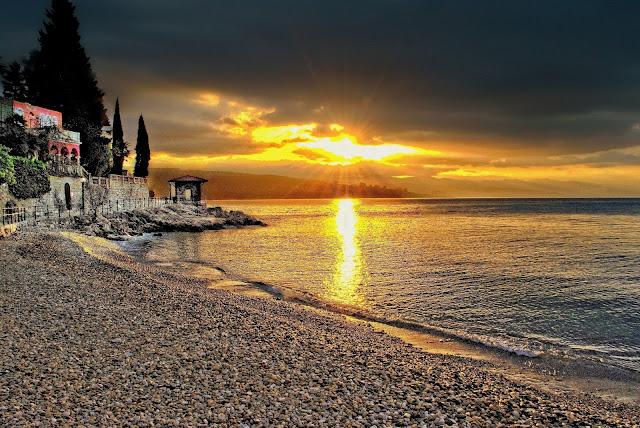 Plaža Lipovica - najljepši izlazak sunca u Opatiji