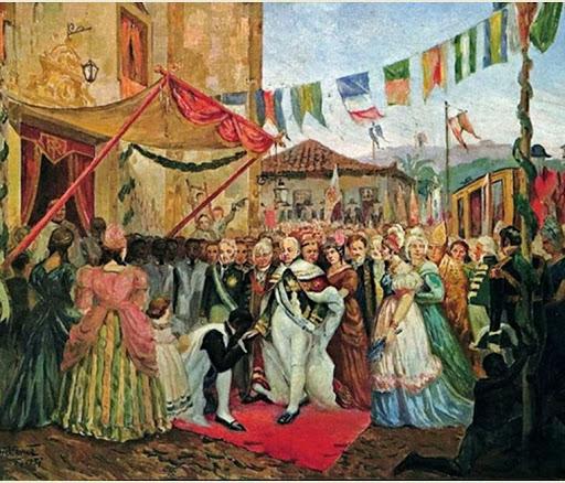 A chegada da Família Real
