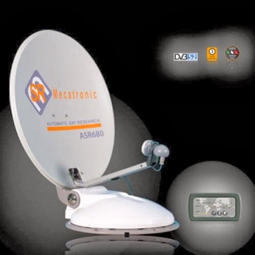 collegamento satellitare per camper