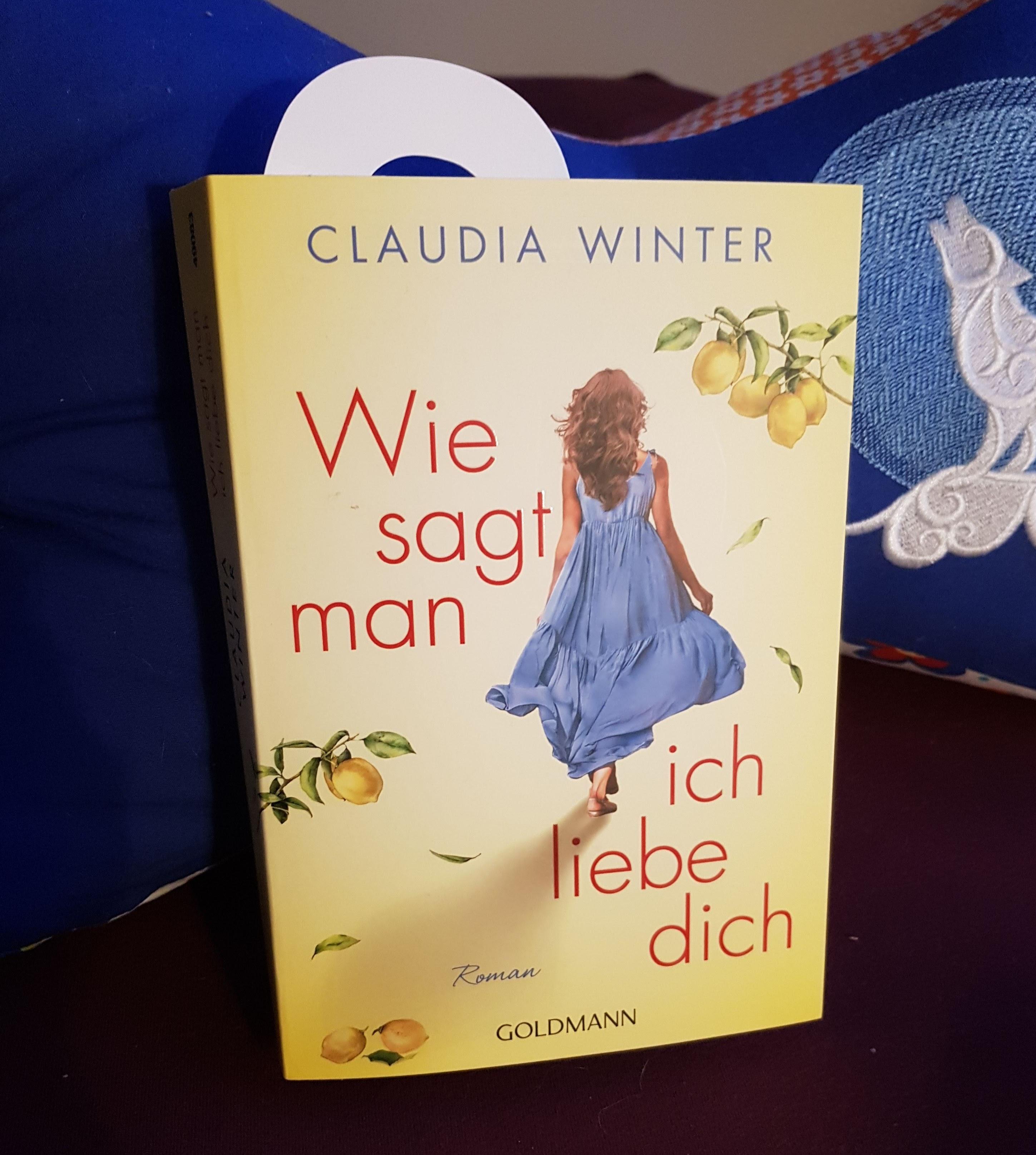 Maries Salon du Livre: (Rezension) Winter, Claudia - Wie