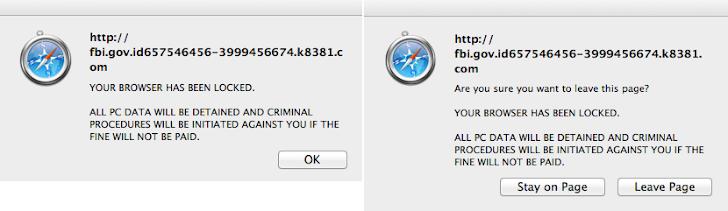 FBI themed Mac OS X Ransomware Malware demands $300 Fine