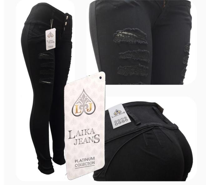 Modelo # 05 – Pantalón Color Negro,