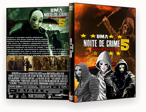 UMA NOITE DE CRIME 5 NO CAOS DA NOITE (2018) DVD-R