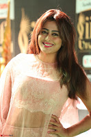 Nidhi Subbaiah Glamorous Pics in Transparent Peachy Gown at IIFA Utsavam Awards 010.JPG