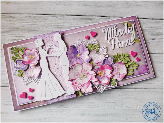 Ślubna karteczka – gościnnie w ScrapAndMe