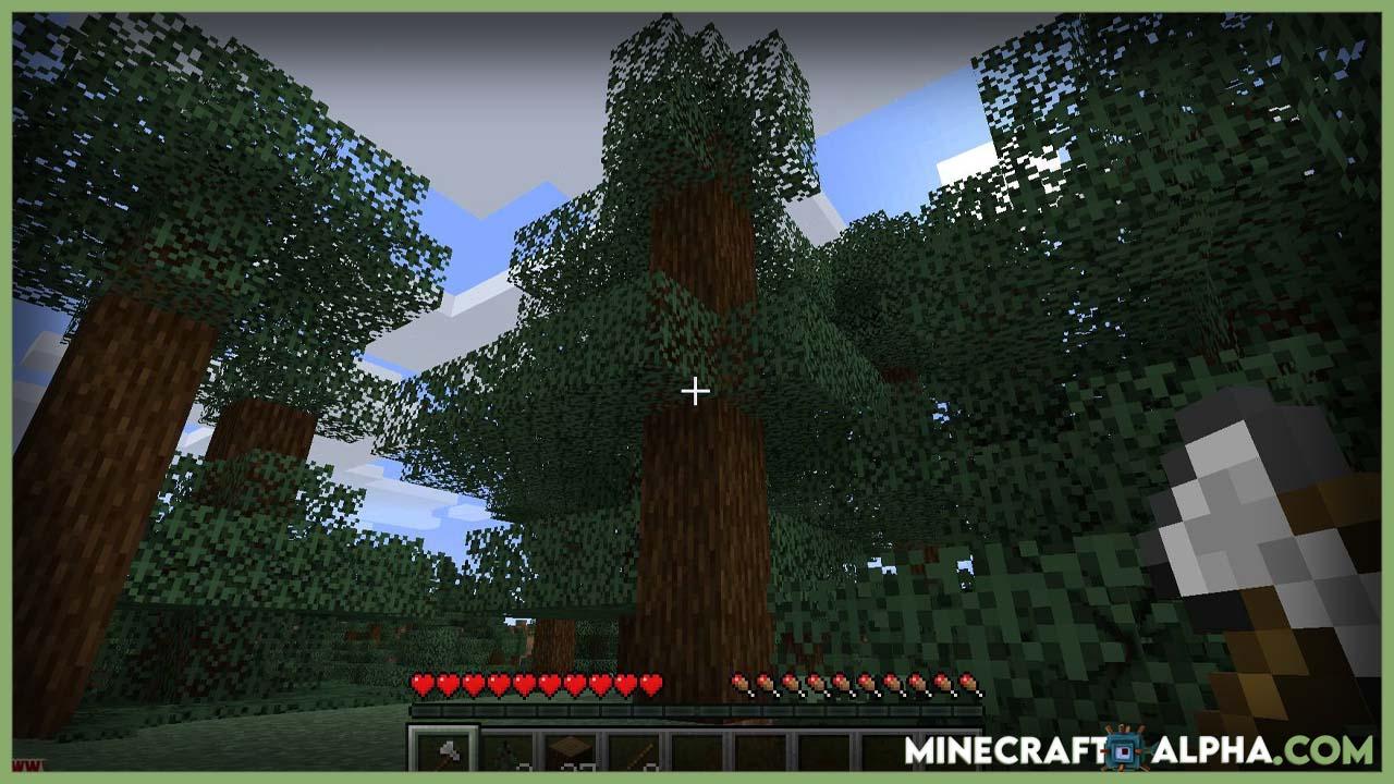 Tree Harvester Mod 1.17.1 (Auto-Planting Tree Chopper)