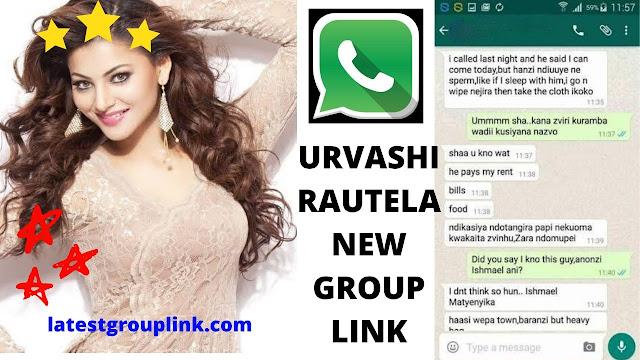 Join 6+ Urvashi Rautela Fans Whatsapp Group Links New update