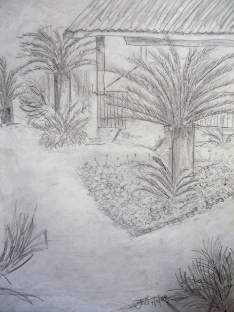 Palm Garden-Original work