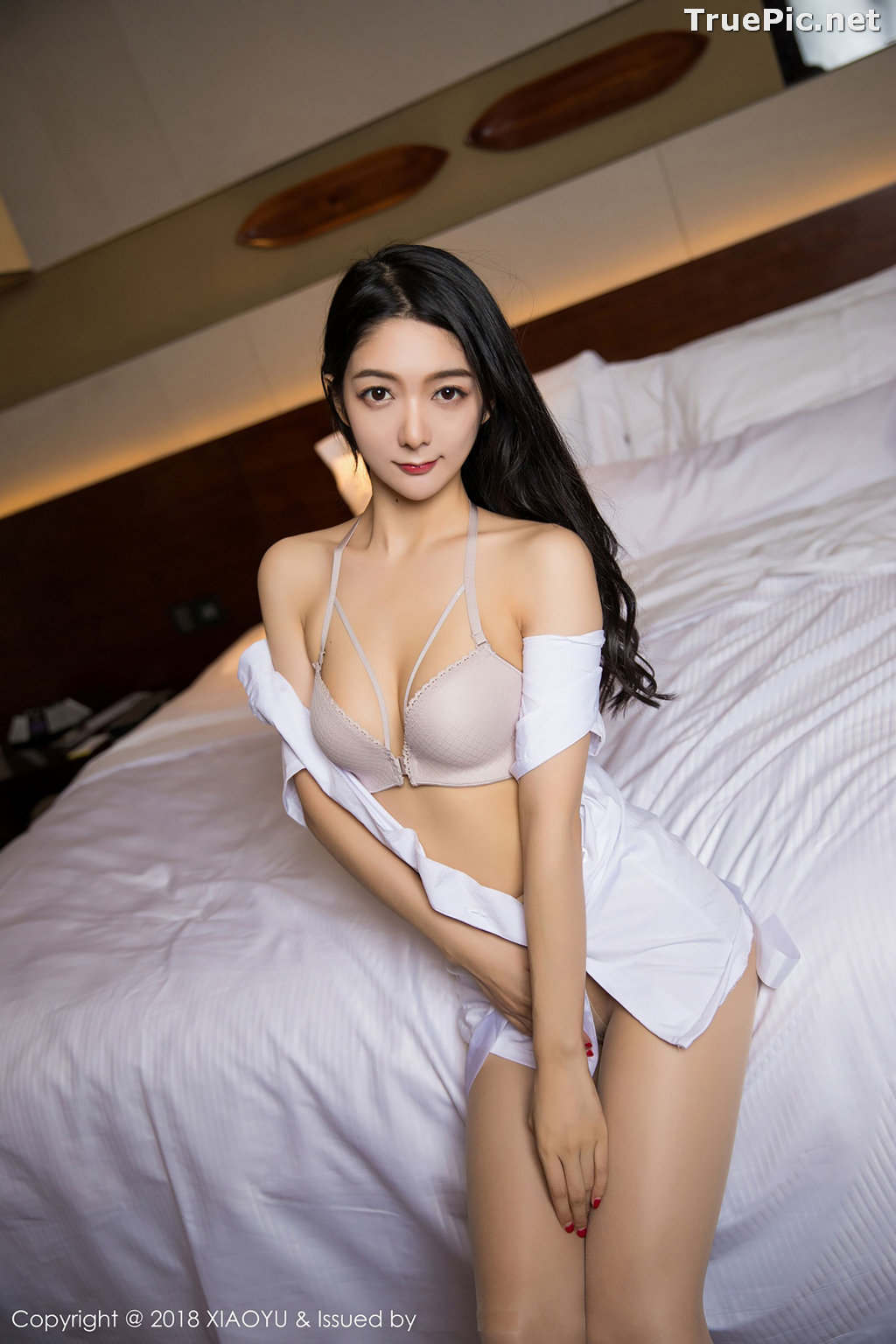 Image XiaoYu No.004 - Chinese Model - Xiao Reba (Angela喜欢猫) - White Sexy Nurse - TruePic.net - Picture-29