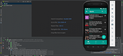NEWS FEED READER USING ANDROID STUDIO SOURCE CODE