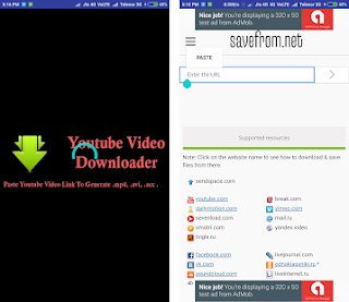 Download YouTube Downloader : SaveFrom.net for android apk