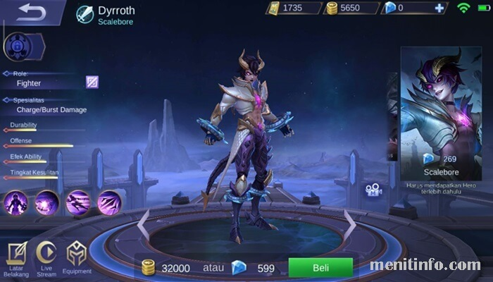 Dyrroth Hero Fighter Baru Di Mobile Legends Dg Skill
