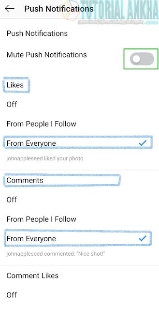 Cara Memperbaiki Notifikasi Instagram tidak Berfungsi atau Bekerja
