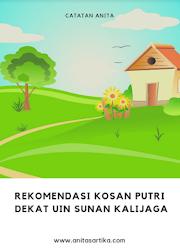 Rekomendasi Kosan Putri Dekat UIN Sunan Kalijaga Yogyakarta